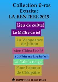 Corpus Delecta Corpus Delecta et Miss Kat - La Rentrée Littéraire 2015 Éditions Dominique Leroy - Extraits.