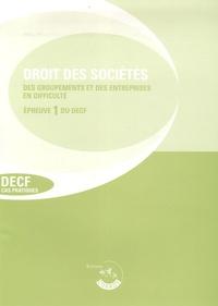Corroy - Droit des sociétés, des autres groupements et de l'entreprise en difficulté.