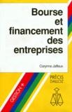 Corynne Jaffeux - Bourse et financement des entreprises.