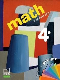 Cosette Ancel-Lepesqueur et Nadine Jacob - Math 4e - Programme 2007.