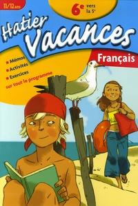 Français de la 6e vers la 5e- 11/12 Ans - Cosette Ranger   Showmesound.org