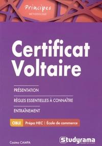 Cosimo Campa - Certificat Voltaire.