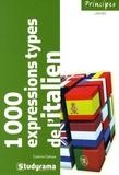 Cosimo Campa - Les 1 000 Expressions types de l'italien.