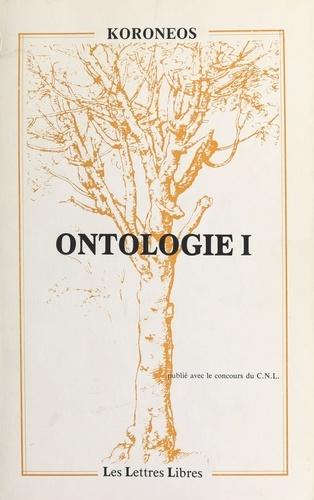 Ontologie I