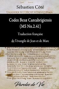 Codex Bezae (MS Nn.2.41) Traduction française de lévangile de Jean et de Marc.pdf