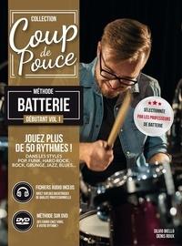 Denis Roux et Silvio Biello - Méthode batterie débutant - Volume 1. 1 DVD