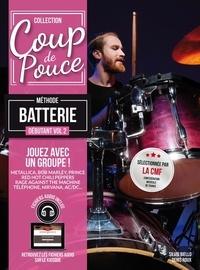 Denis Roux et Silvio Biello - Méthode batterie débutant - Volume 2.