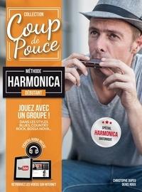 Denis Roux et Christophe Dupeu - Méthode Harmonica débutant.