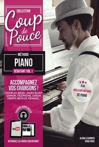 Denis Roux et Alban Levannier - Méthode piano débutant - Volume 1.