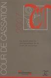 Cour de cassation - La santé dans la jurisprudence de la Cour de cassation - Rapport annuel 2007.