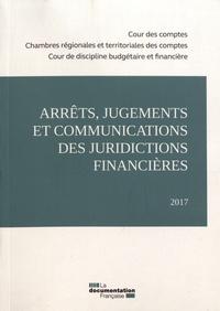 Cour des comptes et  Chambres régionales comptes - Arrêts, jugements et communications des juridictions financières.