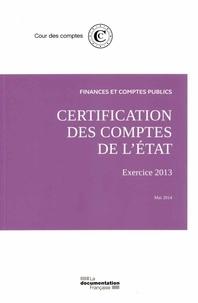 Corridashivernales.be Certification des comptes de l'Etat - Exercice 2013 Image