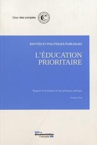 Cour des comptes - L'éducation prioritaire - Entités et politiques publiques.