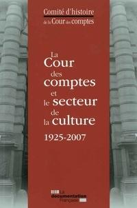 La Cour des comptes et le secteur de la culture 1925-2007- De l'exposition des Arts décoratifs au musée du quai Branly -  Cour des comptes |