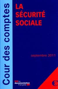 Cour des comptes - La sécurité sociale.