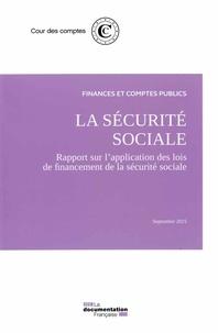 Deedr.fr La sécurite sociale - Rapport du l'application des lois de financement de la sécurité sociale Image