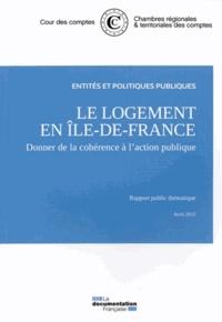 Le logement en Ile-de-France - Donner de la cohérence à laction publique.pdf