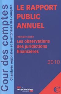 Cour des comptes - Le rapport public annuel - Pack en 3 volumes.