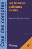 Cour des comptes - Les finances publiques locales.