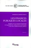 Cour des comptes - Les finances publiques locales - Rapport sur la situation financière.