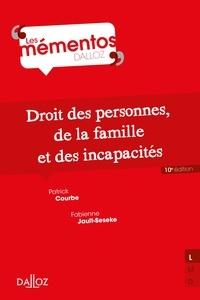 Courbe Patrick et Fabienne Jault-Seseke - Droit civil. Les personnes, la famille, les incapacités.