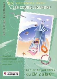 Histoiresdenlire.be Cahier de vacances du CM2 à la 6e Français et Mathématiques Image