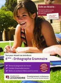 Tout pour réussir sa rentrée en Orthographe Grammaire 4e.pdf