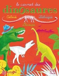 Courtes et Longues et  Musée national histoire nature - Le carnet des dinosaures.