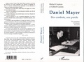 Couteau - Daniel Mayer - Des combats, une parole, nos entretiens, 33 témoins, ses écrits.