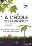 CPN - A l'école de la biodiversité - Classeur pédagogique à l'usage des enseignants des collèges.