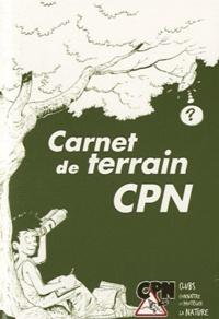 CPN - Carnet de terrain CPN.