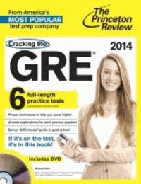 Cracking the New GRE with DVD, 2014 Edition.
