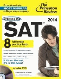 Cracking the SAT with DVD, 2014 Edition.