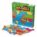 Craenen - Geo Puzzle Monde 68 pièces.