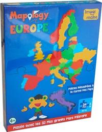 Puzzle Mapology Europe -  Craenen |