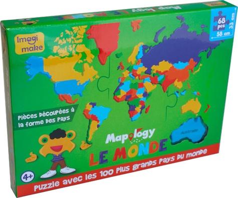 Craenen - Puzzle Mapology Le monde.