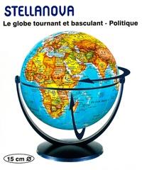 Craenen - Stellanova - Le globe tournant et basculant - Politique - 15 cm.