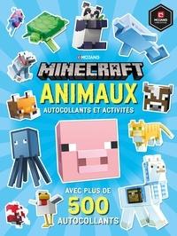 Craig Jelley et Ryan Marsh - Minecraft Animaux - Autocollants et activités, avec plus de 500 autocollants d'animaux.