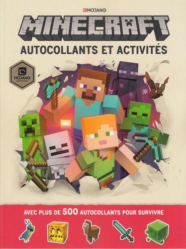 Minecraft. Autocollants et activités