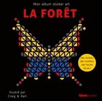 Craig & Karl - La forêt - Mon album sticker art.