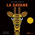 Craig & Karl - La savane - Mon album sticker art.