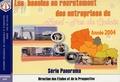 Crci Nord - Pas-de-Calais - Les besoins en recrutement des entreprises du Nord-Pas de Calais - Année 2004.