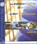Crci Nord - Pas-de-Calais - Les établissements de 50 salariés et + en Nord - Pas-de-Calais.