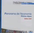 CRCI - Panorama de l'économie Rhône-Alpes - CD-ROM.