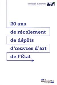 20 ans de récolement de dépôts d'oeuvres d'art de l'Etat -  CRDOA  
