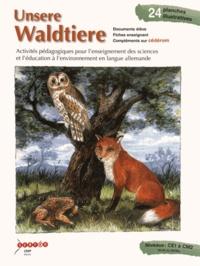 CRDP d'Alsace - Unsere Waldtiere - Activités pédagogiques pour l'enseignement des sciences et l'éducation à l'environnement en langue allemande. 1 Cédérom