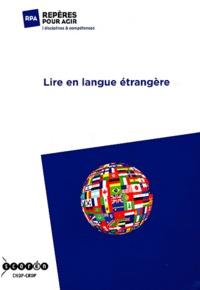 CRDP d'Aquitaine - Lire en langue étrangère.