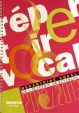 CRDP de Franche-Comté - Répertoire vocal de l'Académie de Besançon. 2 CD audio