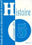 CRDP de Lyon - HISTOIRE 5EME. - Fonds de cartes et documents de travail.