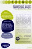 CRDP Orléans-Tours - Lexique Economie et gestion français des affaires - Mots d'or de la francophonie.